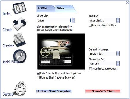 Internet Cafe Software - Client Manual