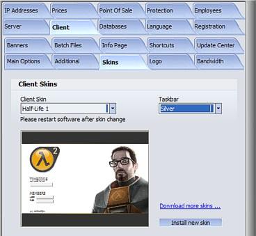 Internet Caffe Software - Setup Manual